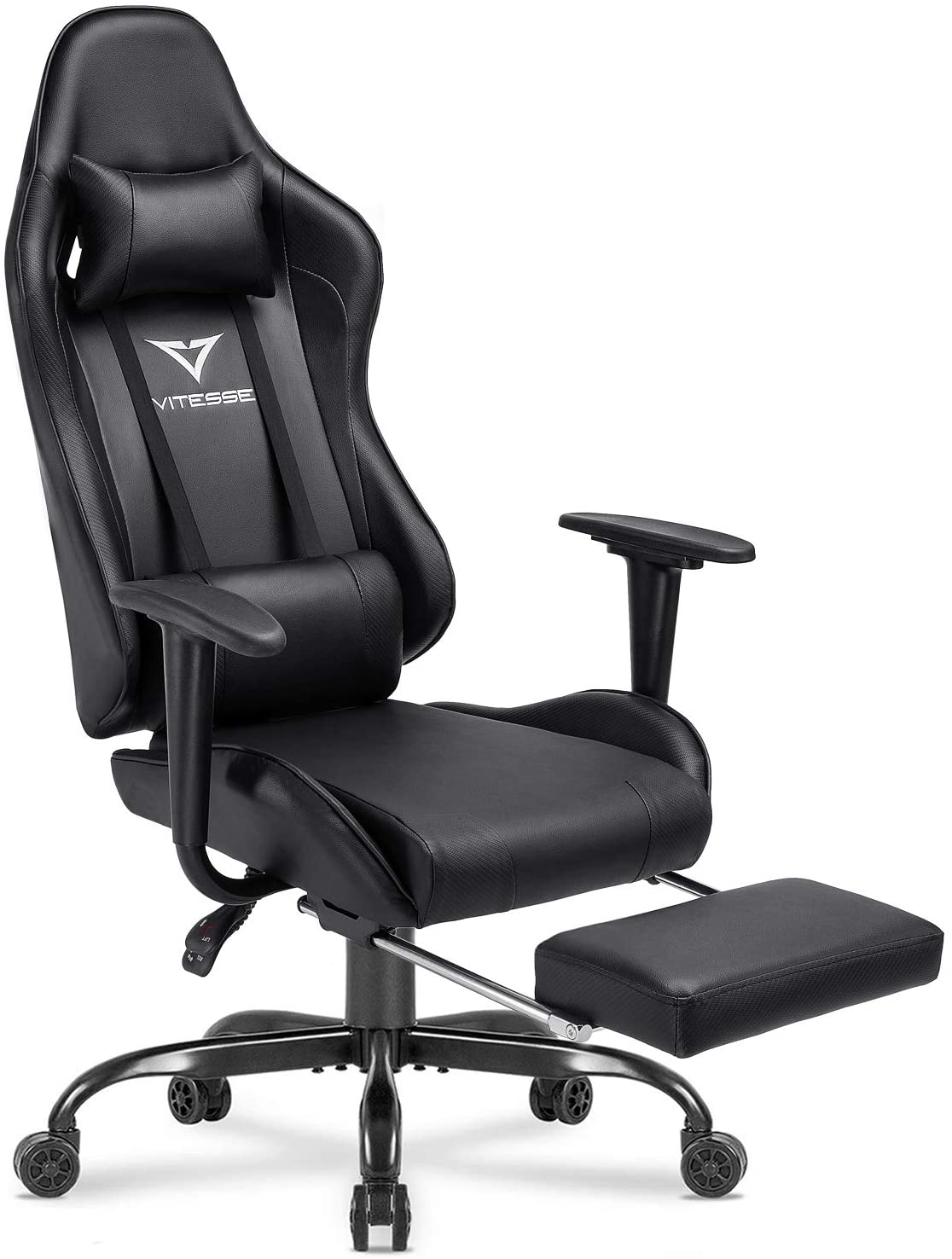 Vitesse Gaming Chair 無料サンプルOK with Footrest Racing Computer Style Office 爆買いセール