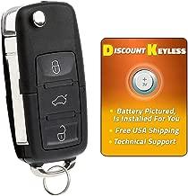 Discount Keyless Replacement Uncut Car Remote Fob Key For Volkswagen Passat Jetta Golf Cabrio HLO1J0959753AM
