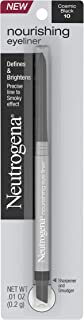 Neutrogena Nourishing Eyeliner Pencil, Built-in Sharpener for Precise Application and Smudger for Soft Smokey Look, Luminous, Nonfading and Nonsmudging Cosmic Black 10,.01 oz