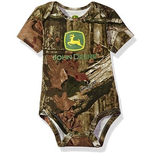ca69d4728 John Deere Baby Boys' Grahpic Bodyshirt