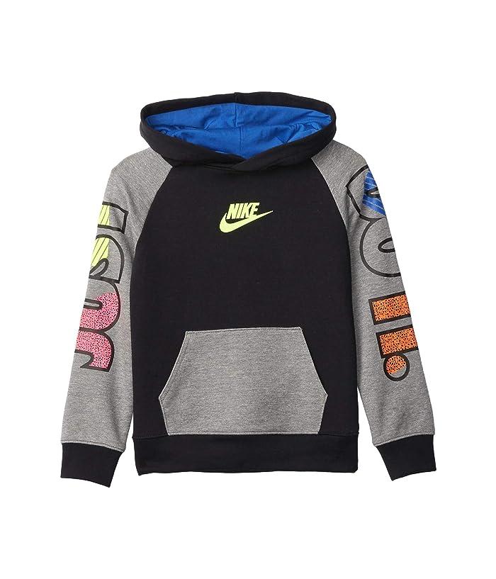 Nike Kids Baby Boys French Terry Color Block Full Zip Hoodie Toddler