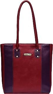 Fristo Women Handbag(FRB-109) Maroon and Purple