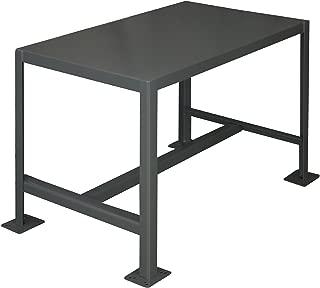 Durham Steel Medium Duty Machine Table, MT244818-2K195, 1 Shelves, 2000 lbs Capacity, 48