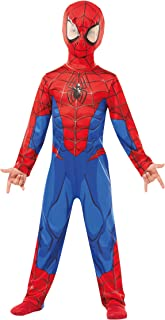 (Large) - Rubie's 640840L Spiderman Marvel Spider-Man Classic Child Costume, Boys