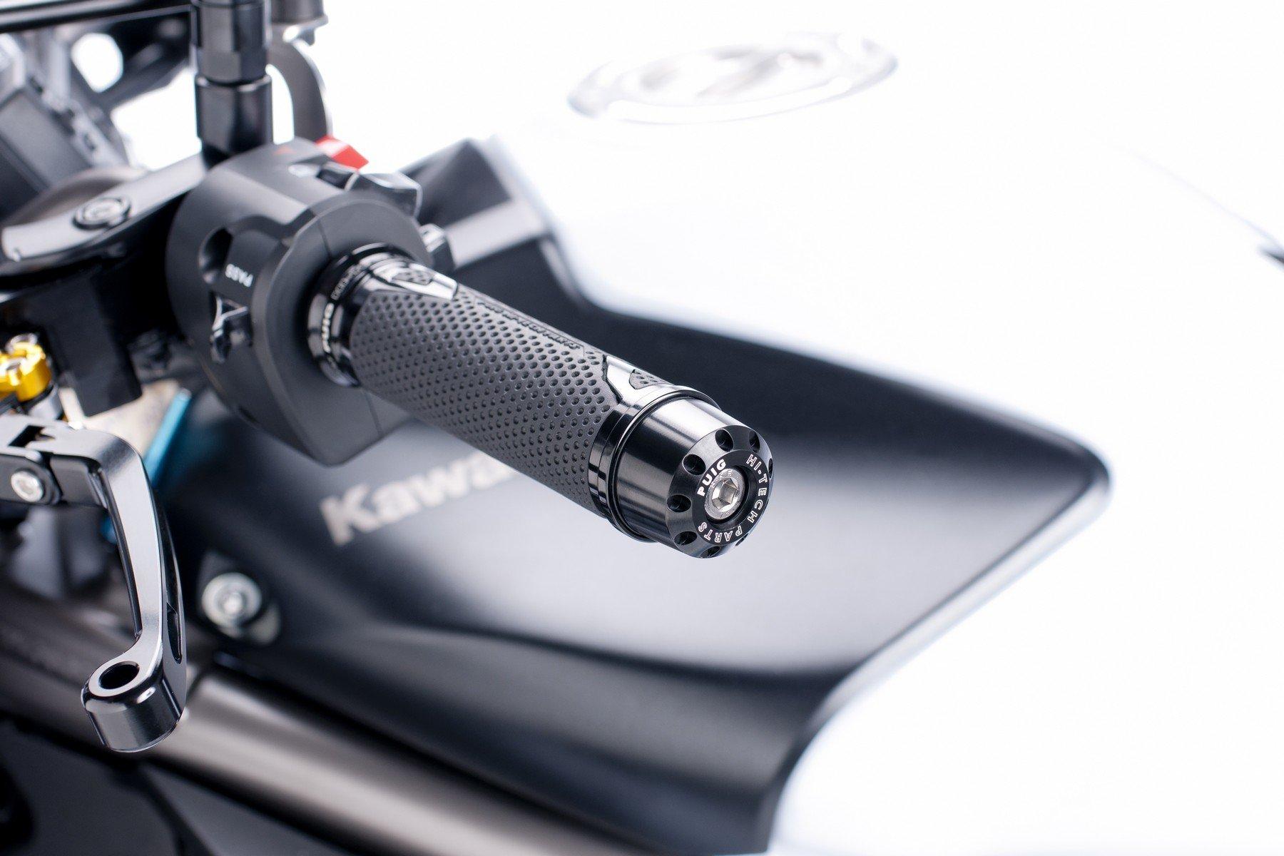 PUIG Contrapesos terminales manillar aluminio corto 20mm