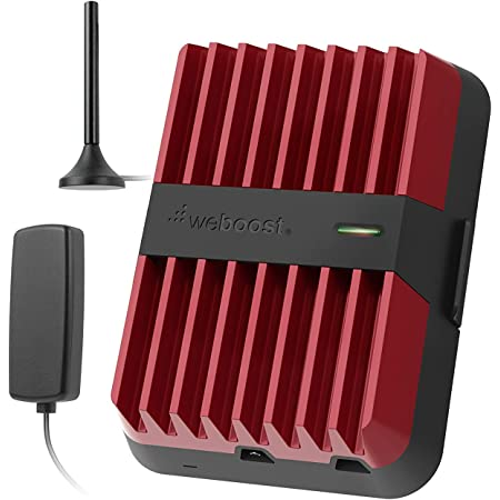 weBoost Drive Reach (470154R) Factory Refurbished Vehicle Cell Phone Signal Booster | Car, Truck, Van, or SUV | U.S. Company | All U.S. Networks and Carriers | 1 Year Manufacturer Warranty