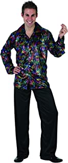 UrAmmi Way 70S Men's Disco Costume Party Clothes Outfit