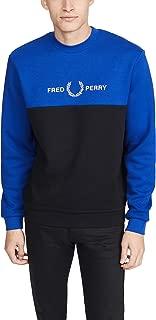 Fred Perry Men's Block Graphic Sweatshirt