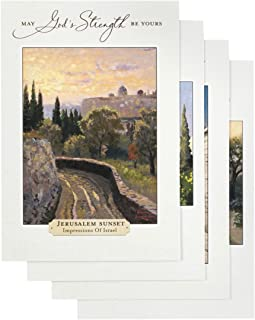 DaySpring Thomas Kinkade - Get Well - Inspirational Boxed Cards - God's Strength - 74869