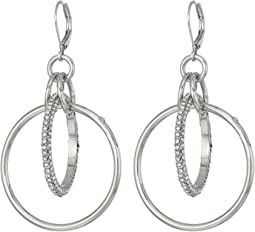 Statement Interlocking Ring Earrings