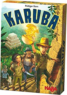 HABA Karuba – An Addictive Laying Puzzle Game for the Whole Family (Made in Germany)