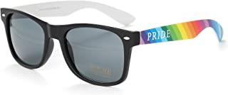 Colourful Gay Pride Drifter Rainbow Style Sunglasses (Pack Of 50) WSPSG3