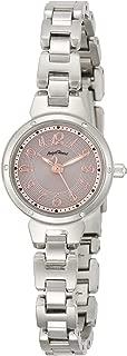 [エンジェルハート] 腕時計 CrystalBloom ピンク文字盤 ソーラー電池 CB22SS シルバー