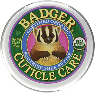 Badger – Certified Organic Cuticle Care- Soothing Shea Butter – .75 oz. – 1 Pack