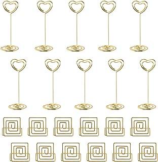merymall Carte de Table de Bateau /à Voile en Alliage Support de num/éro de Table Support de Menu de Recette de Table pour Restaurants Mariages Banquets