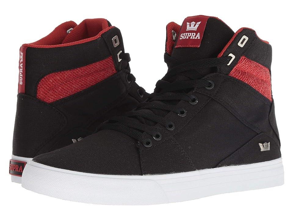 e2e280b970d3 Supra Aluminum (Black Bossa Nova White) Men s Skate Shoes
