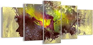 ARTTOR Tableau Decoration Murale Salon - Impression sur Verre - Toutes Tailles et Différents Thèmes Graphiques - Tableaux,...