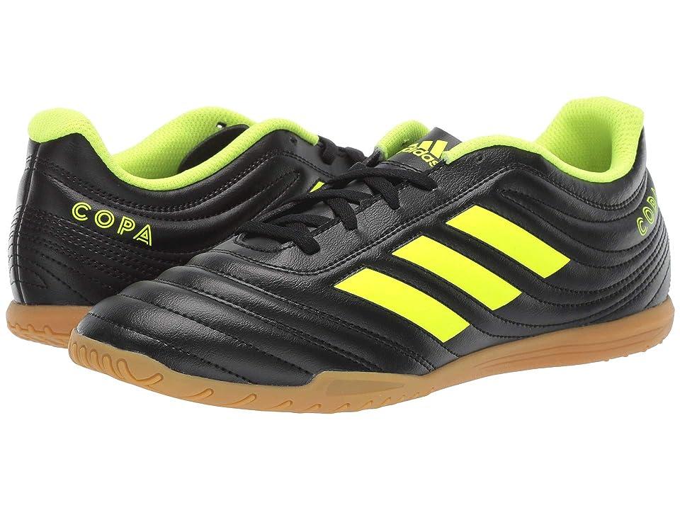 adidas Copa 19.4 IN (Core Black/Solar Yellow/Core Black) Men's Soccer Shoes