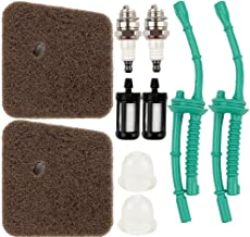 Dalom FS55R Air Filter Fuel Line Primer Bulb Tune Up Kit for STIHL FS55 FS38 FS45 FS46 KM55 HL45 MM55 FS100 FS110 FS130 String Trimmer Weed Eater