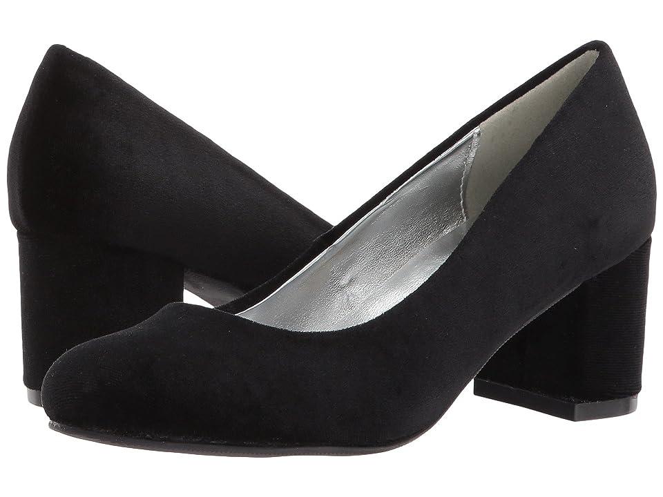 Image of Amiana 15-A5500 (Little Kid/Big Kid/Adult) (Black Velvet) Girl's Shoes