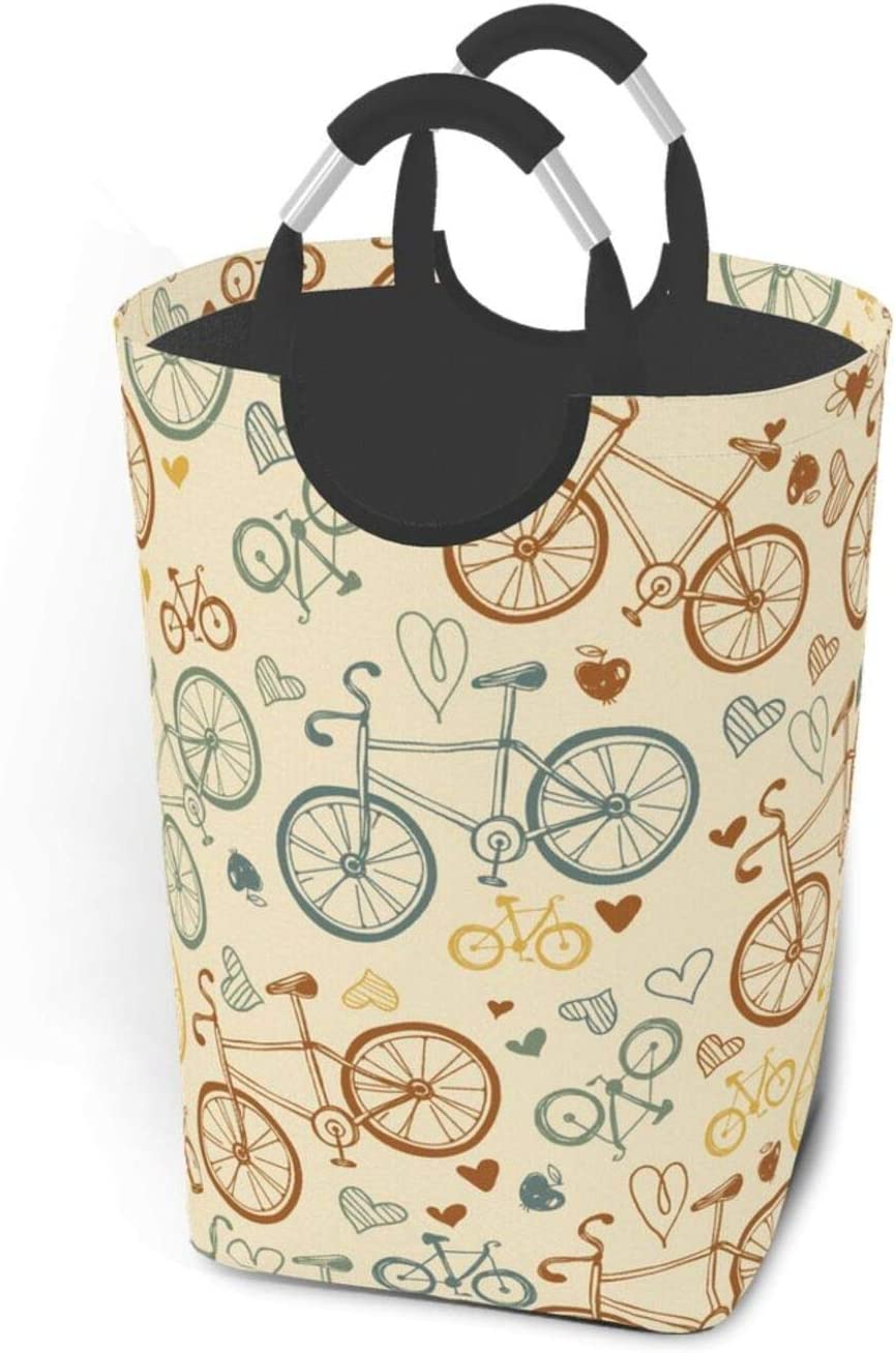 Laundry Basket Bicycle Hamper Limited Special Price safety T Bathroom Dormitory For