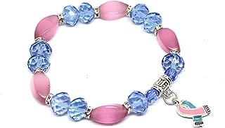 Stillbirth Awareness Bracelet - Pick your own charm