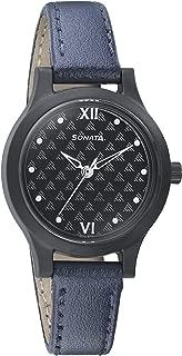 Sonata Essentials Analog Black Dial Women's Watch-87030PL02