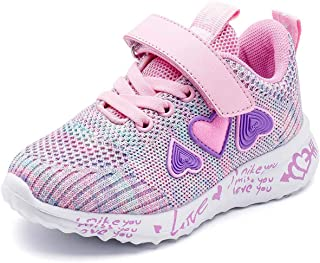 Boys Lightweight Sneakers Girls Breathable Athletic...