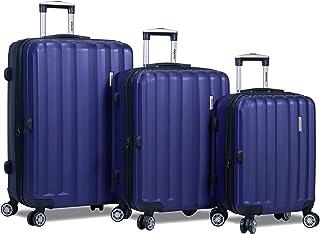 Dejuno Camden Hardside 3-Piece Expandable Spinner Luggage Set