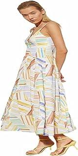 Trendowel Women's V-Neck Long Multicolor Dress