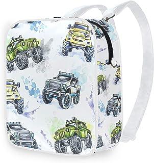 DEZIRO - Mochila de hombro con diseño de Monster Trucks