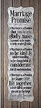 Best Dexsa Marriage Promise.New Horizons Wood Plaque Review