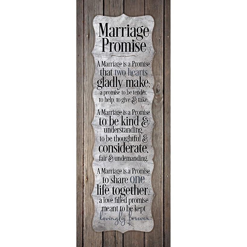 Dexsa Marriage Promise.New Horizons Wood Plaque