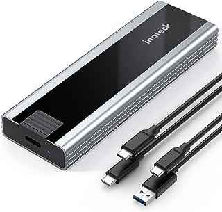 Inateck M.2 SSD ケース、USB A-CとUSB C-Cケーブル付きNVME SSD ケース、FE2027
