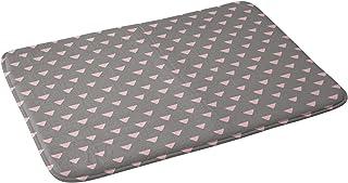"Deny Designs Bianca Green Bath Mat, 17"" x 24"", Geometric Confetti Pink"