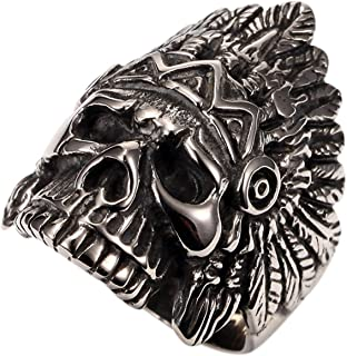 Best skull crown ring Reviews