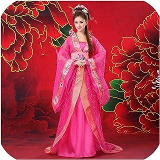 Chinese Women Princess Costume Trailing Hanfu Dress Chinese Traditional Costume 89
