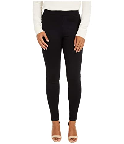 Sanctuary Runway Ponte Leggings with Functional Pockets (Black) Women