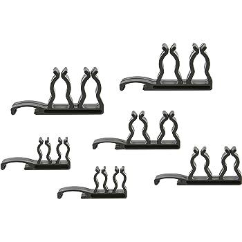 15-Pack Black 8343-Black Ernst Manufacturing 3//8-Inch Dura-Pro HD Impact Socket Clips