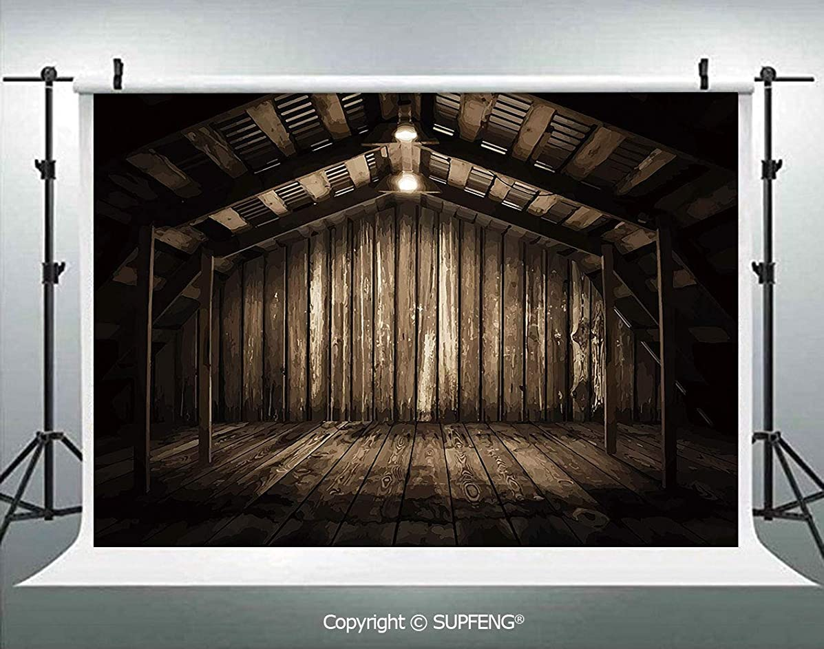 Background Old Wooden Rustic Home Cottage Rural Countryside Grunge Rusty Indoors 3D Backdrops for Interior Decoration Photo Studio Props
