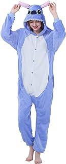 Cosplay-Kost/üm Loungewear FunnyCos Unisex Tier-Einteiler f/ür Erwachsene Halloween-Schlafanzug mit Kapuze