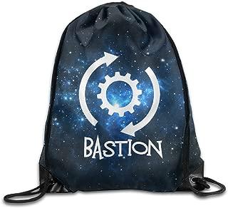 VOLTE Logo Drawstring Bags Travel White Backpack Sport Bag for Men & Women School Travel Backpack for Teens College