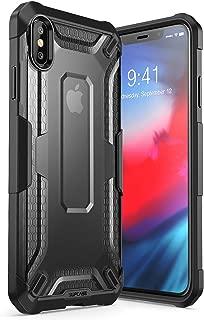 iPhoneXsMaxCase, SUPCASE [Unicorn Beetle Series] Premium Hybrid Protective TPU and PC Clear Case for iPhoneXsMaxCase 6.5 Inch 2018 Release (Black)
