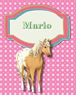 Handwriting and Illustration Story Paper 120 Pages Mario: Primary Grades Handwriting Book
