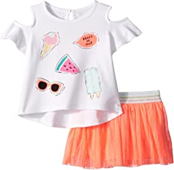 Kate Spade New York Kids So Cool Skirt Set (Infant)