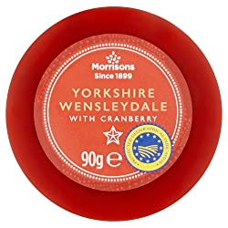 M Wensleydale with Cranberry Truckle 90g