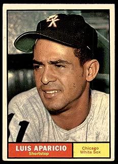 1961 Topps #440 Luis Aparicio Very Good White Sox