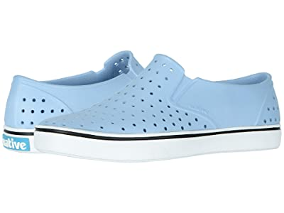 Native Shoes Miles (Washed Blue/Shell White) Athletic Shoes