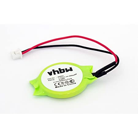 Vhbw Ni Mh Bios Batterie 20mah Notebook Laptop Dell Elektronik