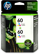 HP 60 | 2 Ink Cartridges | Tri-color | CC643WN